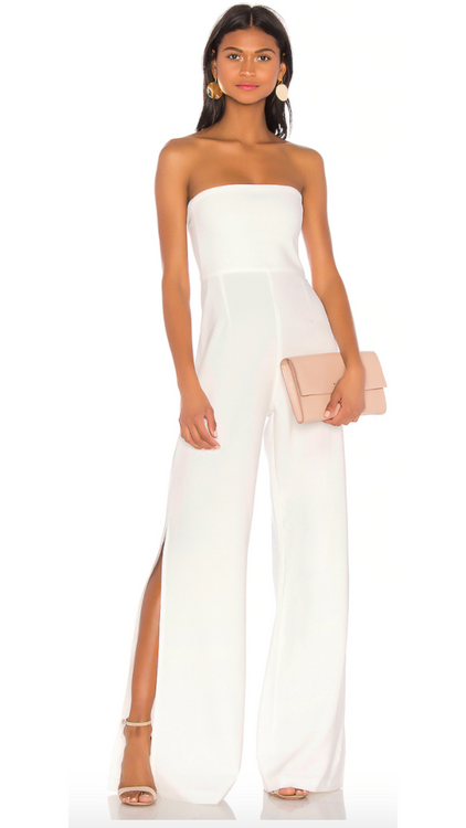 Nookie White Glamour Jumpsuit