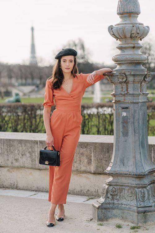 Orange Gaala jumpsuit